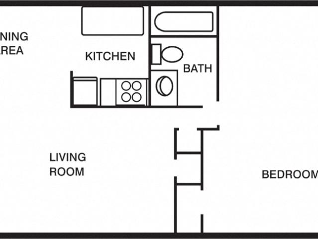 Woodlands At Oyster Point 1 Bdrm