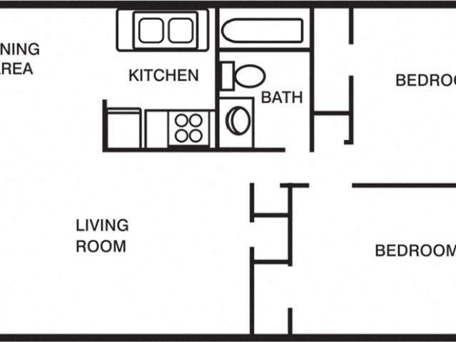 Woodlands At Oyster Point 2 Bdrm