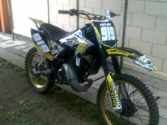Stickers 125 dt Yamaha dt 125