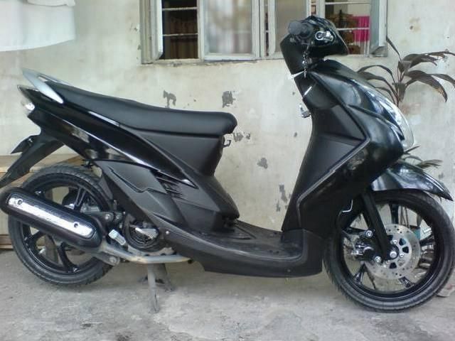 Yamaha Nouvo Fairings Conversion